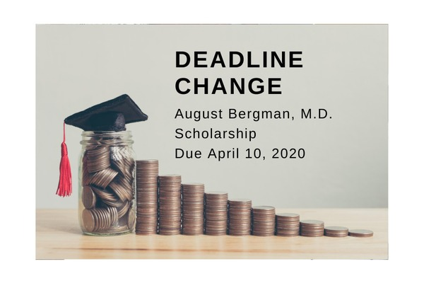 Scholarship Deadline Change